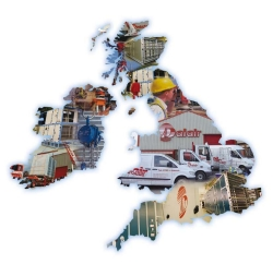 Dalair's site service team provide complete UK coverage